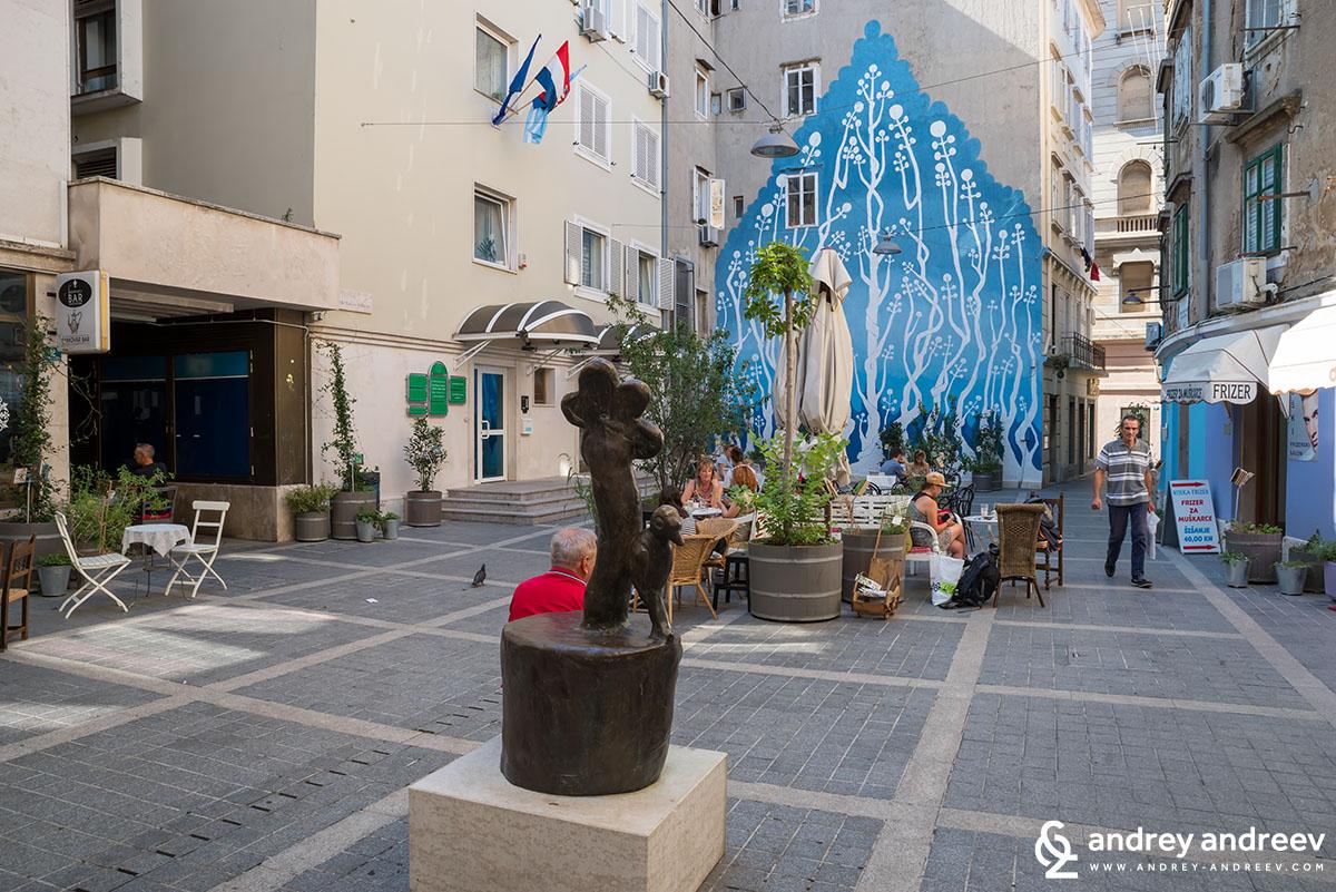 Square in Rijeka