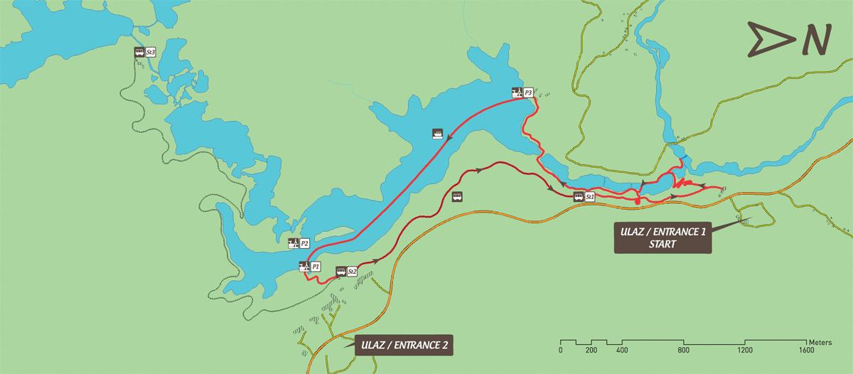 Програма B за Плитвичките езера
