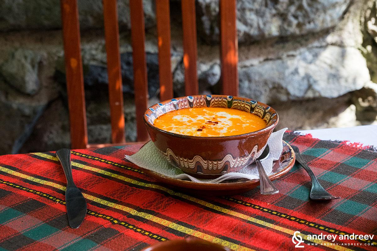 Tripe soup - Shkembe Chorba