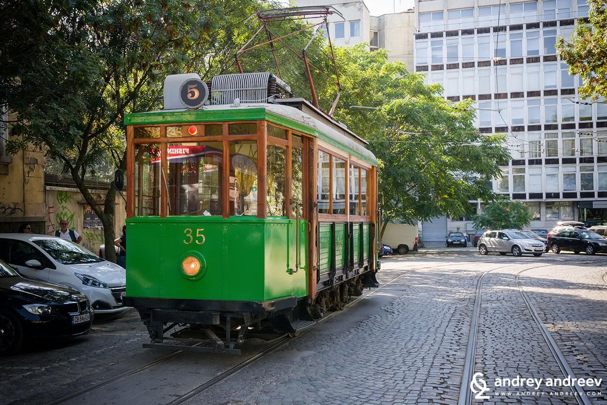 Sofia's Retro Tram