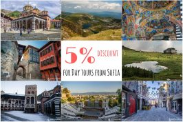 Get discounts for day tours from Sofia