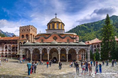 Rila Monastery, the famous monastery in Bulgaria