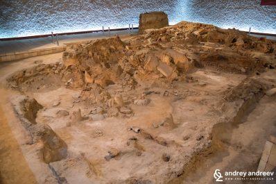 Neolithic dwellings in Stara Zagora