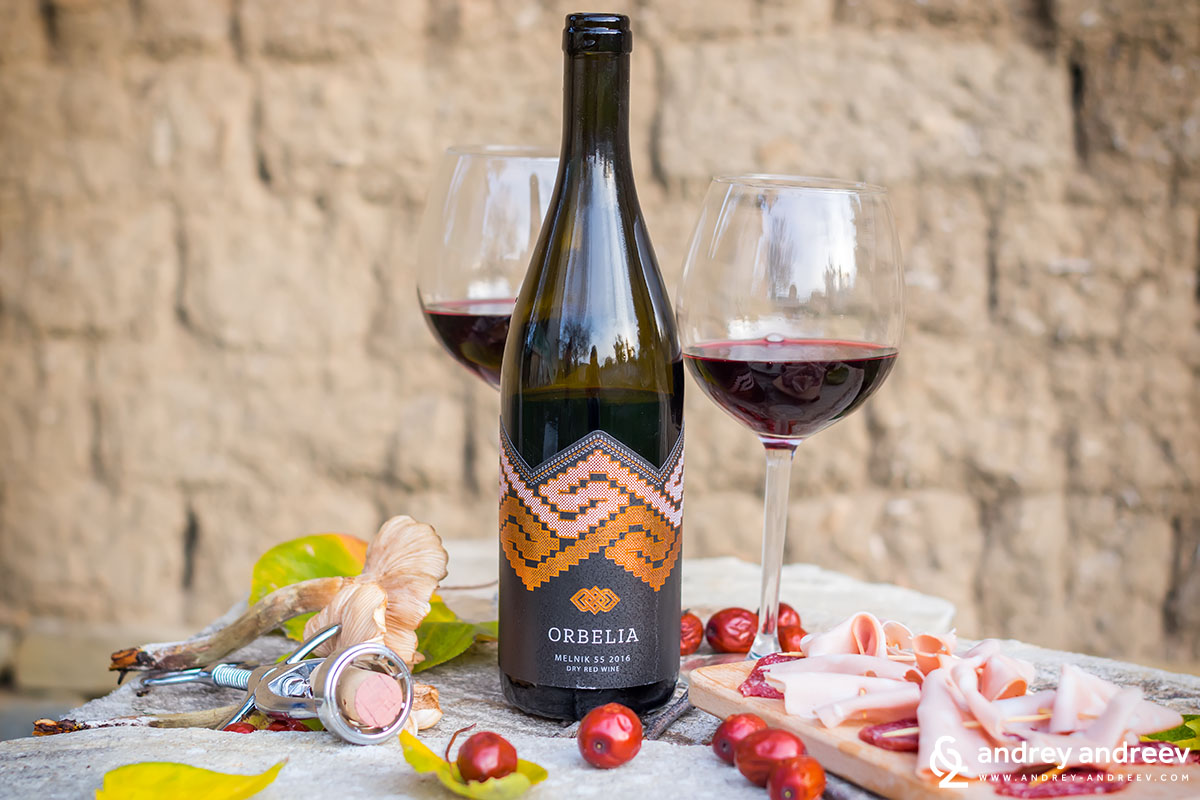 Melnik 55, 2016 by Orbelia winery, Bulgaria