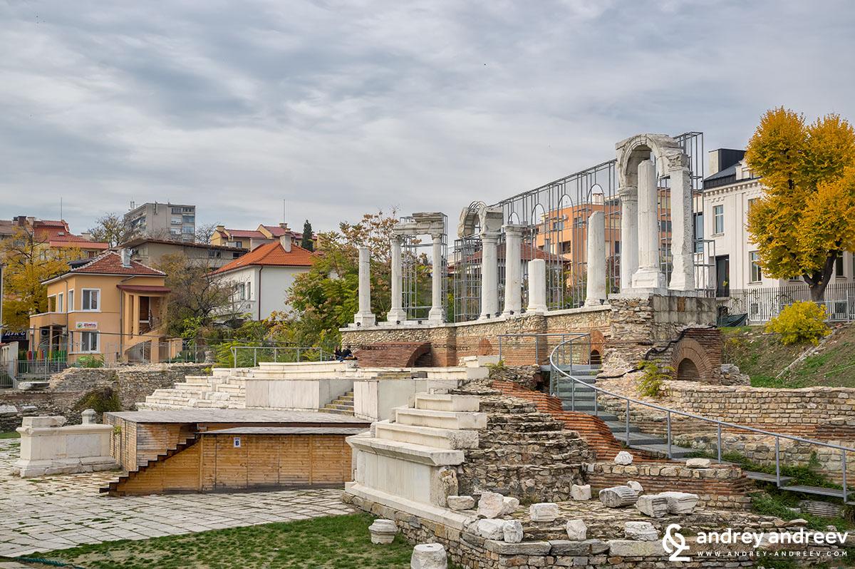 The Roman forum in Stara Zagora, what to see in Stara Zagora, what to do in Stara Zagora, attractions in Stara Zagora