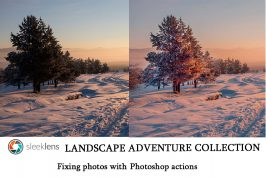 Sleeklens Landscape Adventures Collection - Photoshop actions review