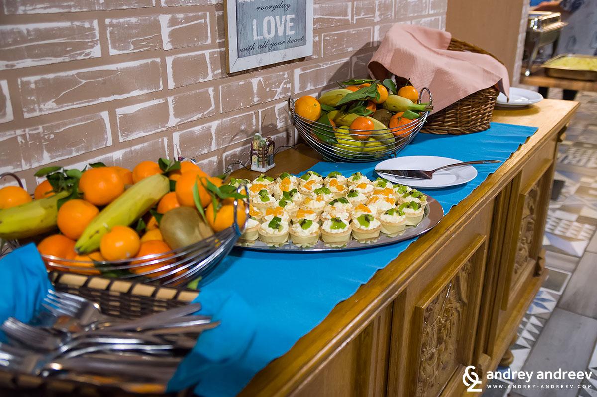 Вечеря на блок-маса в хотел Seven Seasons - десертът