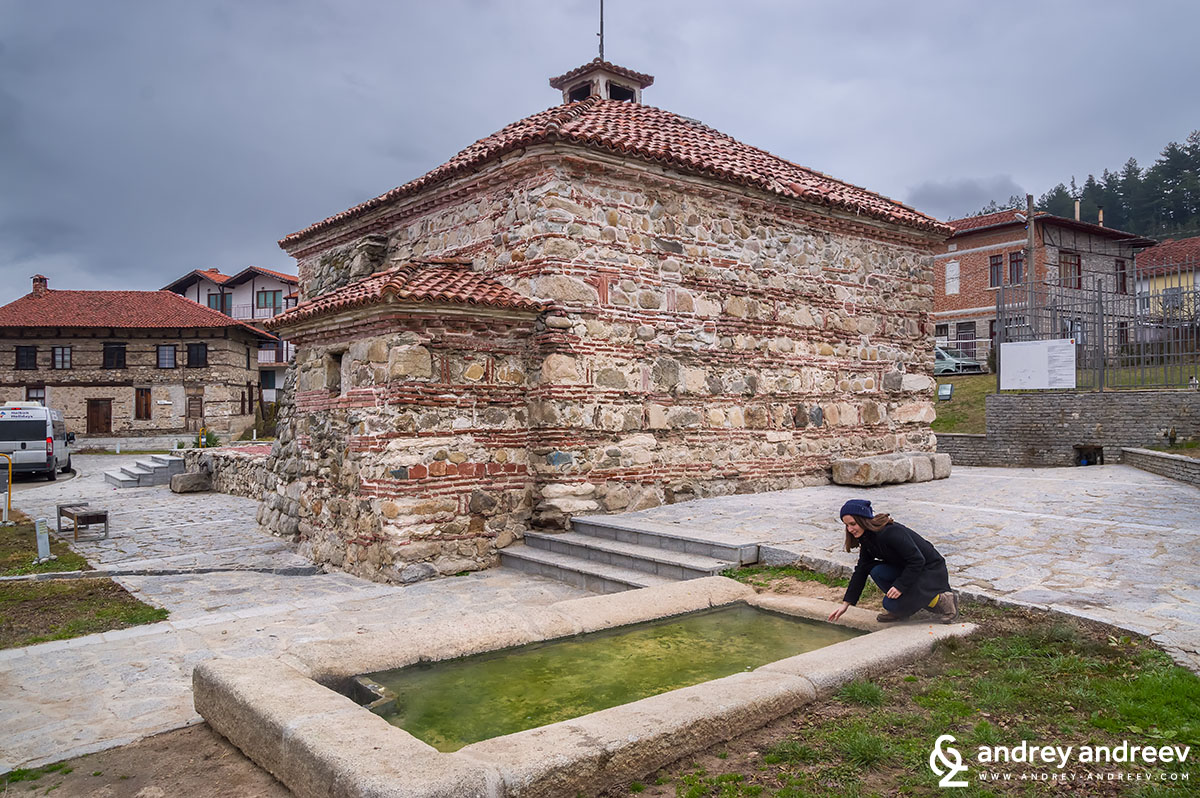 The Bulgarian, or Roman bath in Banya village 3