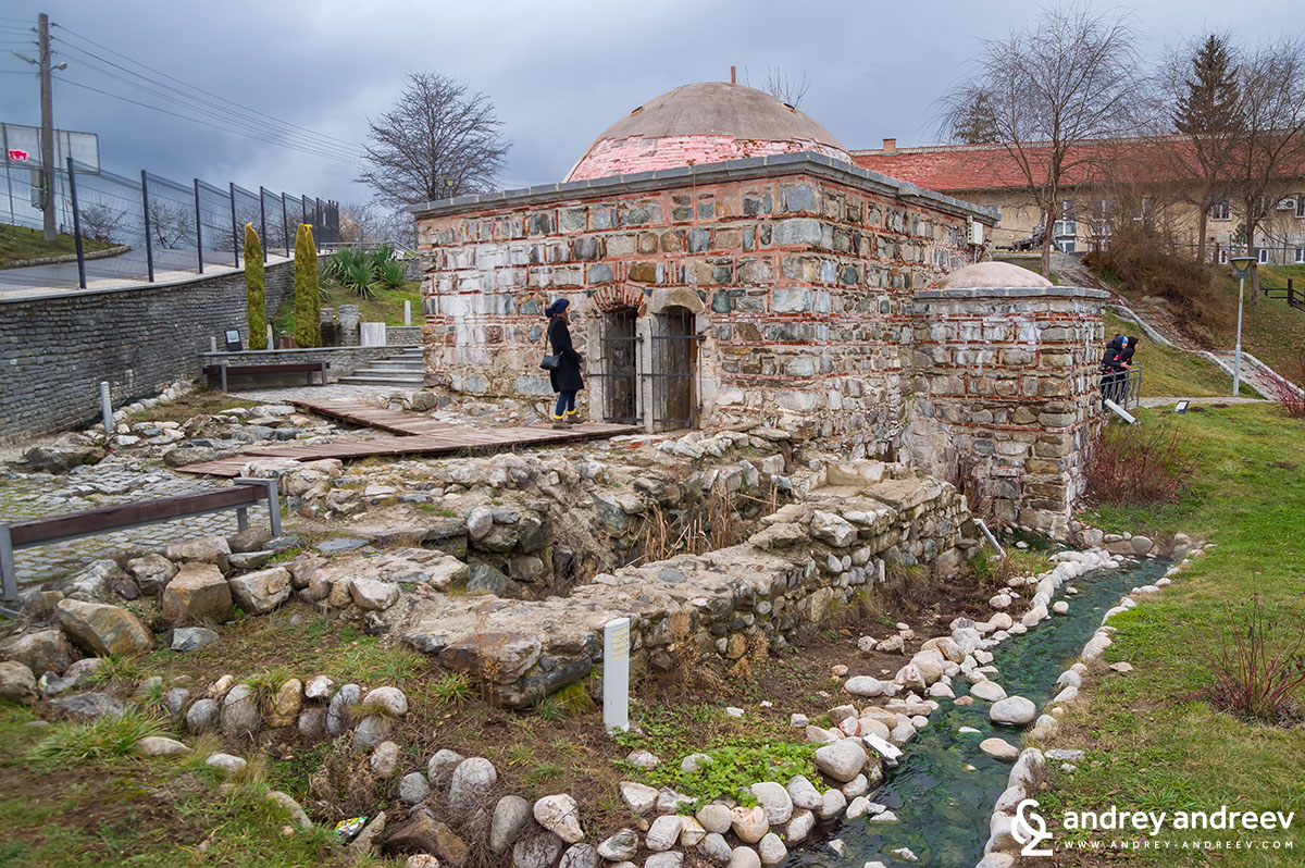 The old Turkish bath - one of the main attractions in Banya, near Bansko