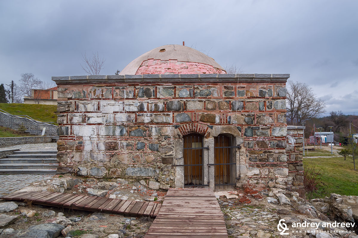 Old Turkish bath in Banya village, Bulgaria