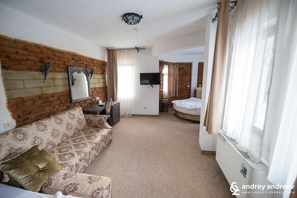 Стаята ни в хотела - Роял Спа Валентина Касъл, хотел в Огняново, хотели в Огняново
