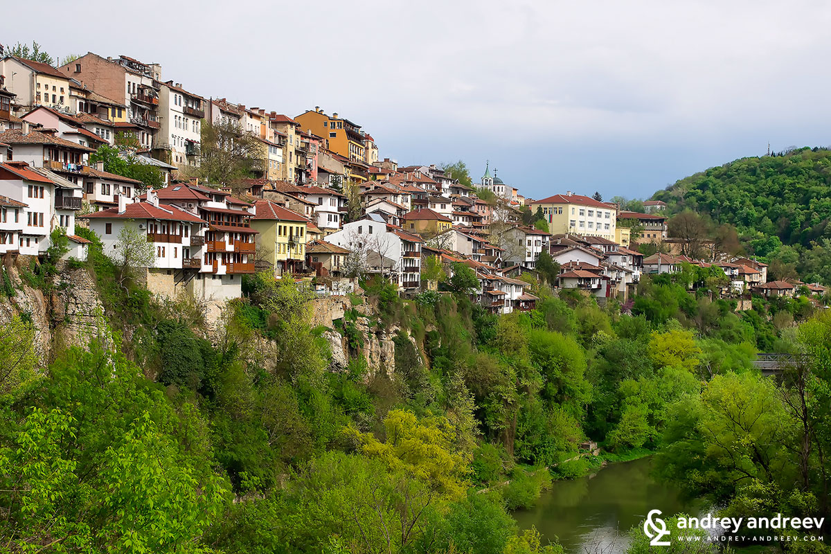 Veliko Tarnovo, once the capital of Bulgaria