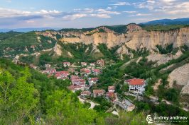 A view or Melnik Bulgaria