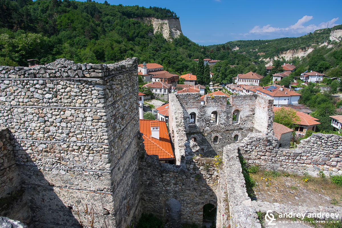 The Boyar House in Melnik, Bulgaria, dating back to the 13th century