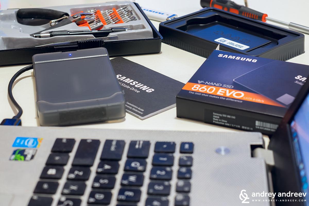 Неразборията докато клонирам диска - Samsung EVO 860, Samsung SSD, Самсунг SSD, Защо е важно да имаме SSD