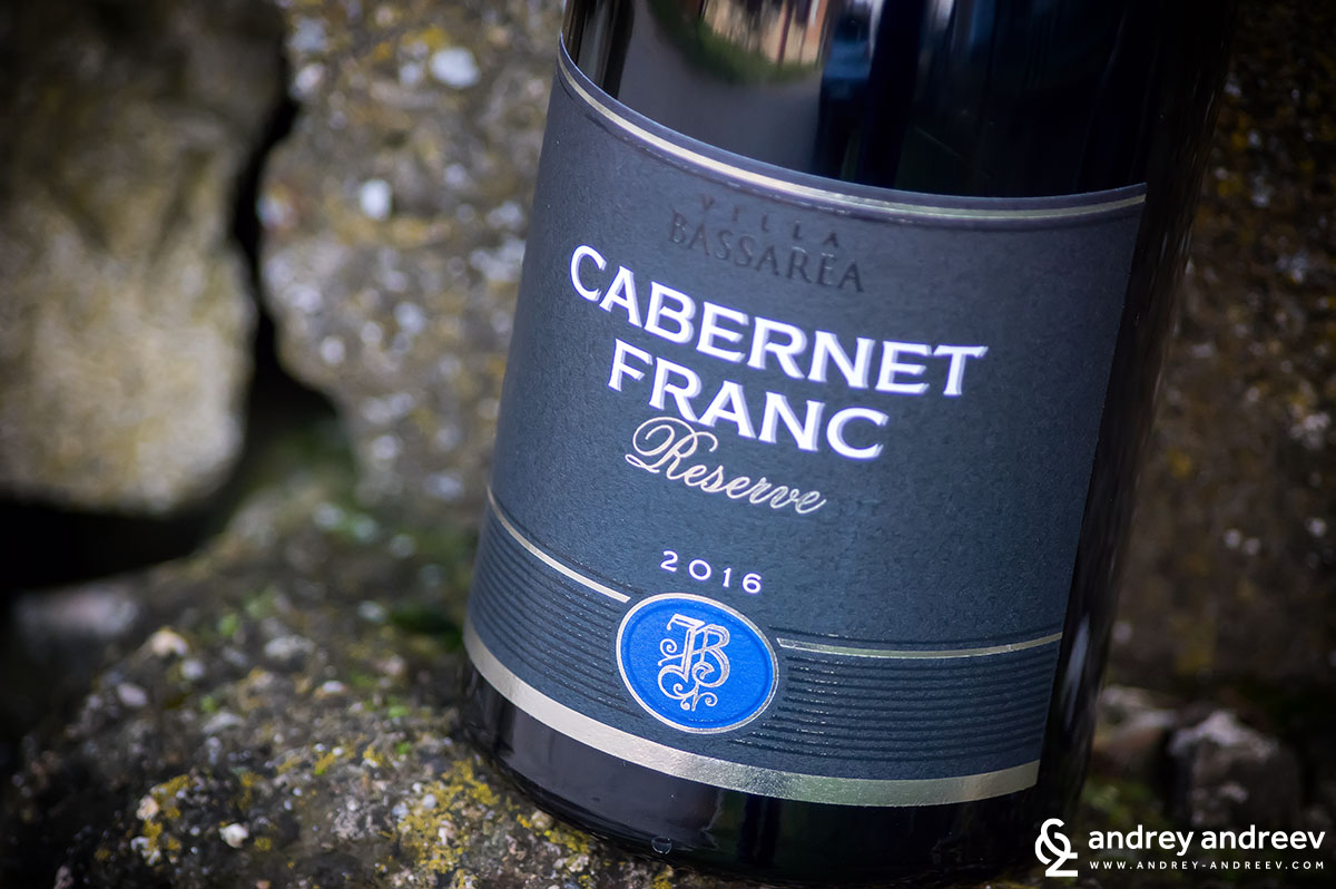 Каберне Фран 2016 на винарна Вила Басареа