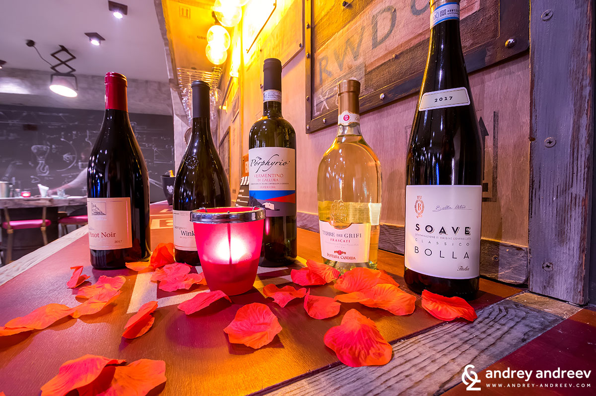 Дегустация на вина в Bar White, София, винени дегустации в София, къде да пием хубаво вино в София, ресторант с вино в София, винен бар в София
