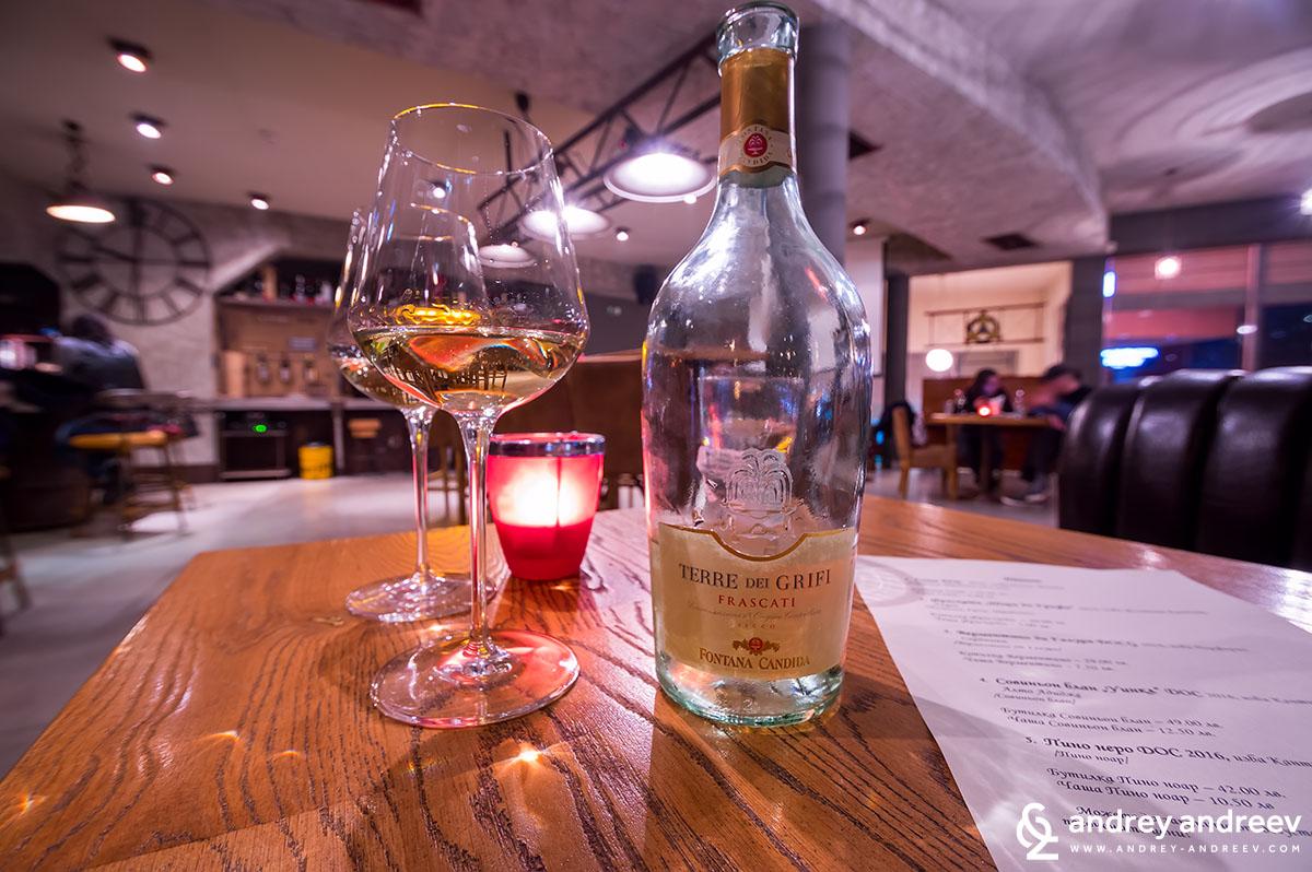 Бялото вино Terre dei Grifi