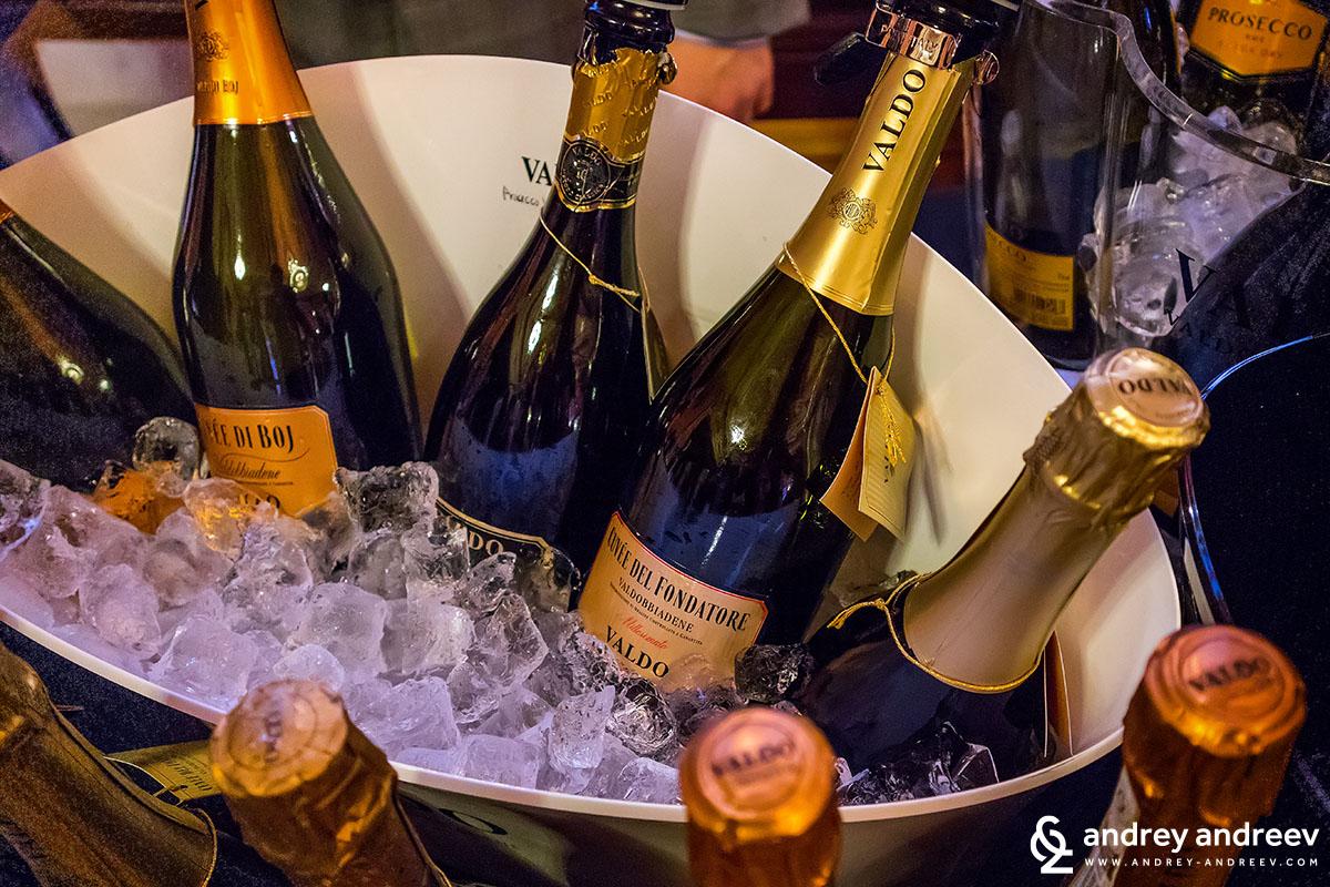 Valdo Spumanti просеко Италия - Winebox Portfolio Tasting 2018