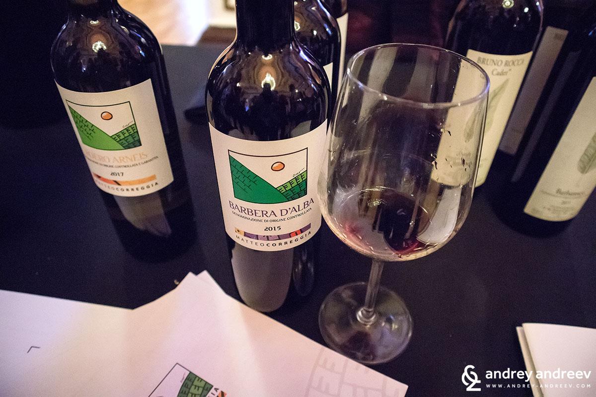 Червените вина на Matteo Correggia Италия