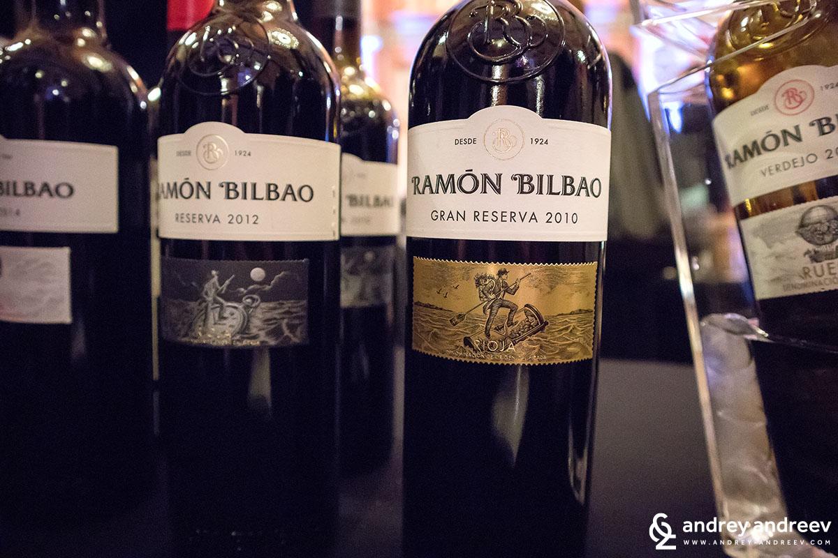 Вината на Ramon Bilbao Испания