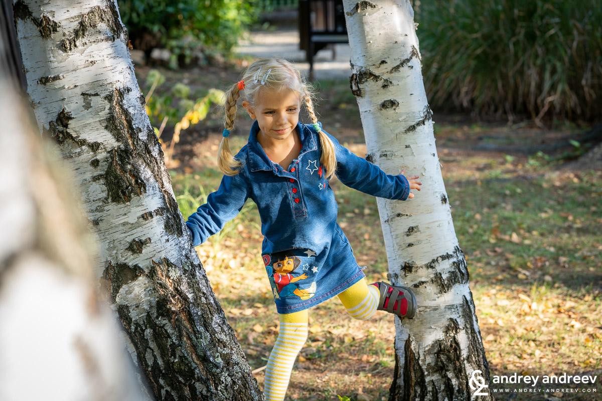 Анна се наслаждава на спокойствието в парк Врана
