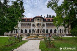 Royal palace Vrana near Sofia Bulgaria