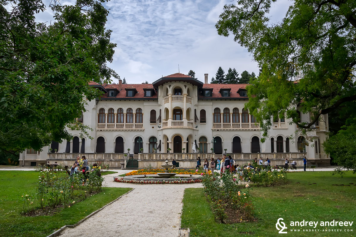 Vrana royal palace near Sofia Bulgaria