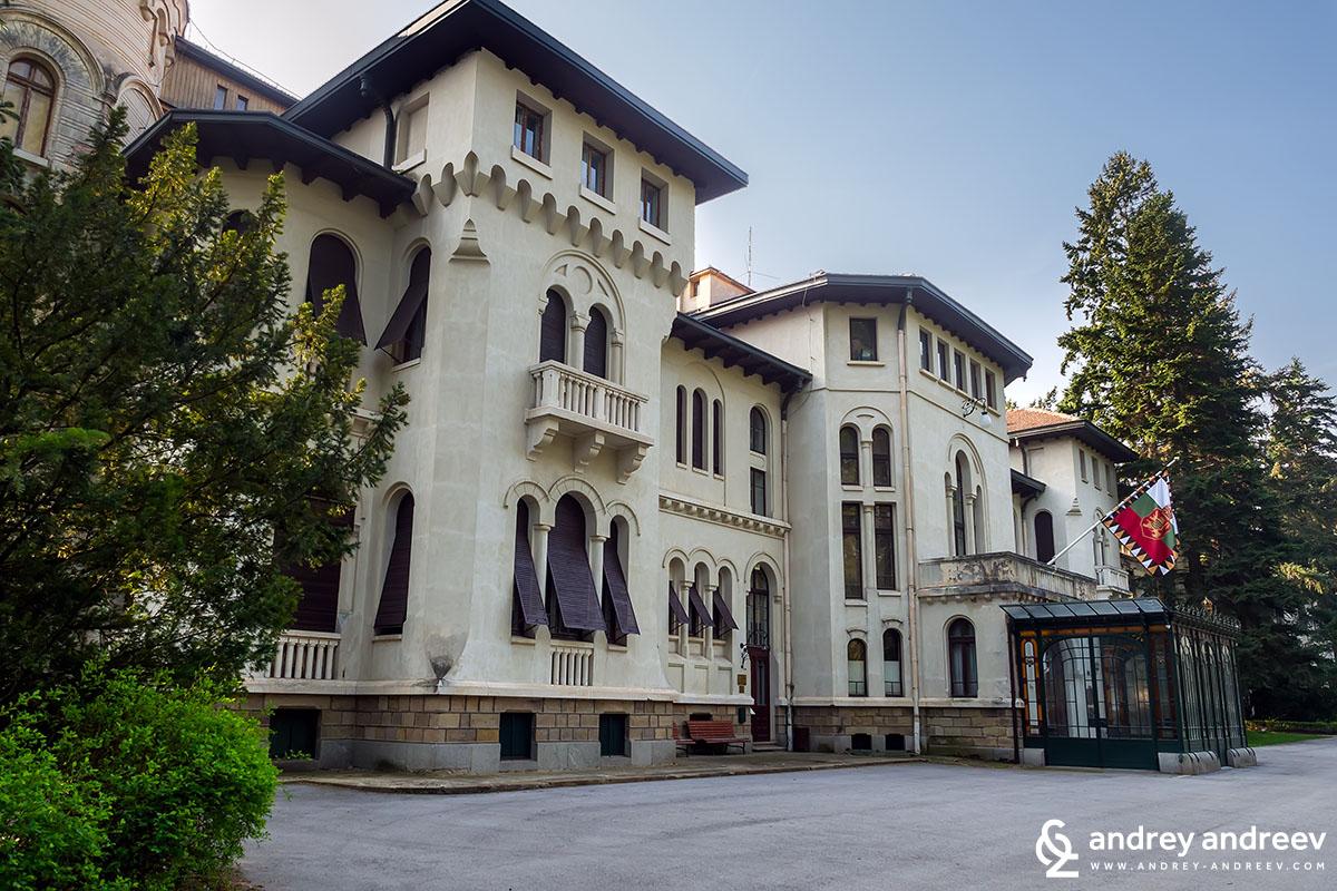 Royal Palace Vrana in Sofia Bulgaria