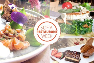 Sofia Restaurant Week May 2018