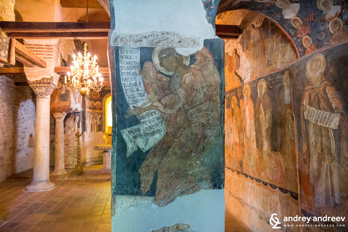 Wall paintings in St. Peter and Paul church in Veliko Tarnovo, Bulgaria 2
