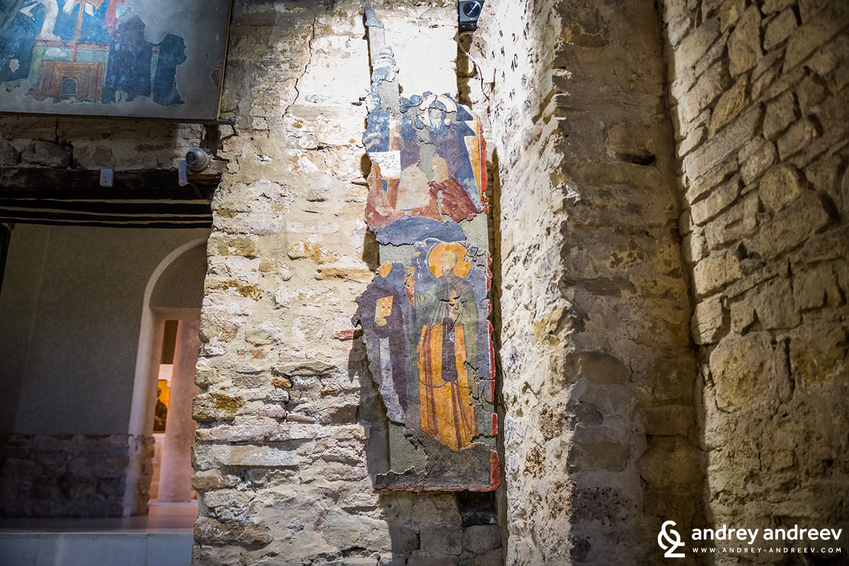 Murals at Holy Forty Martyrs church in Veliko Tarnovo, Bulgaria