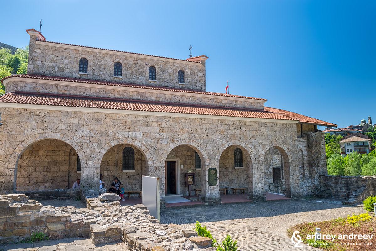 """Храмът """"Св. 40 мъченици"""" във Велико Търново"""