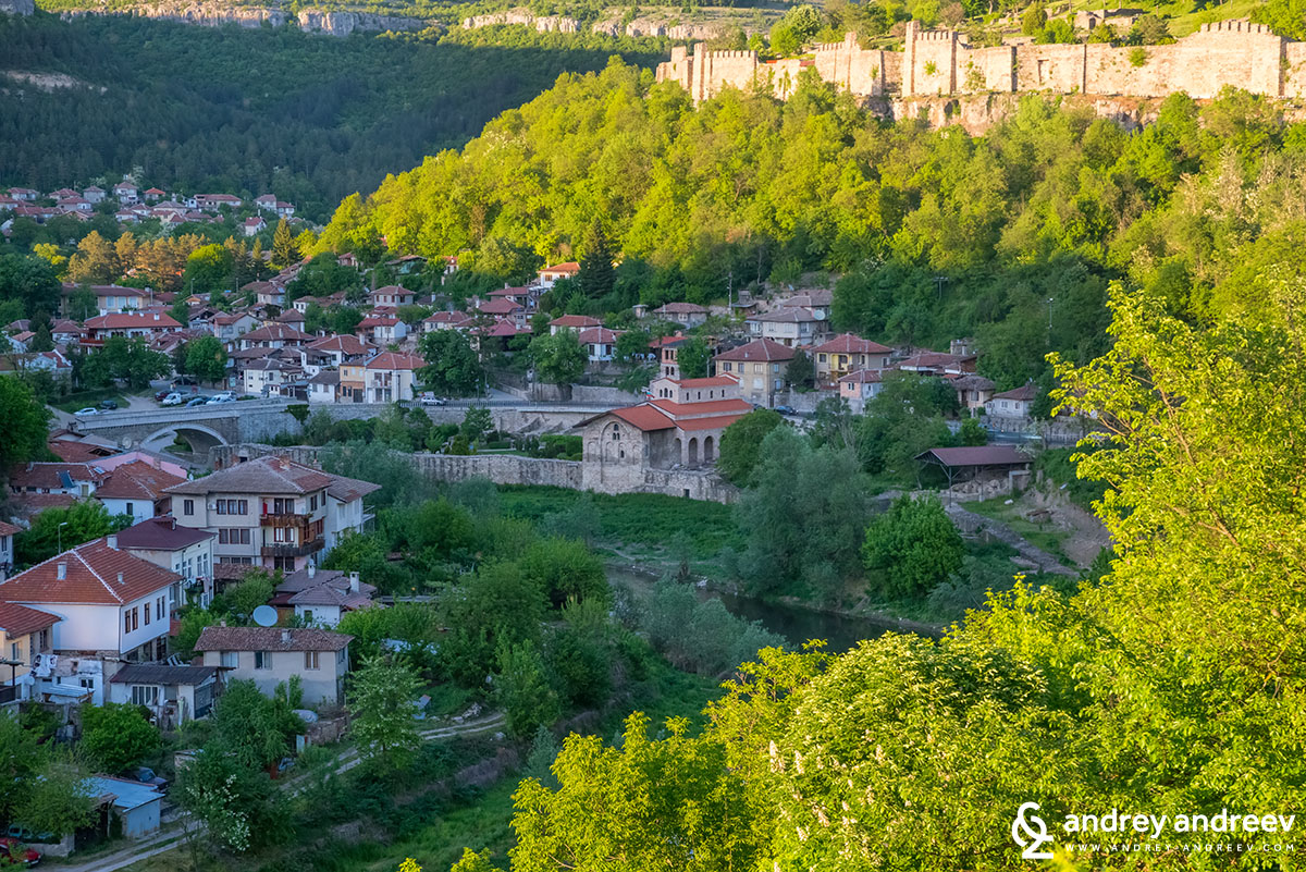 The Holy 40 Martyrs Vhurch in Veliko Tarnovo, Bulgaria - on the shore of Yantra river, just at the foot of Tsarevets hill