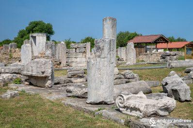 Nicopolis ad Istrum, an ancient Roman city in Bulgaria, roman city near Veliko Tarnovo