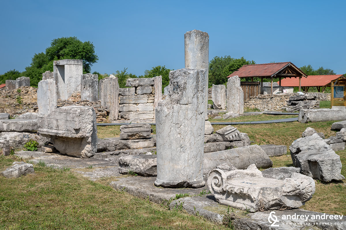 Nicopolis ad Istrum, an ancient Roman city in Bulgaria, roman city near Veliko Tarnovo