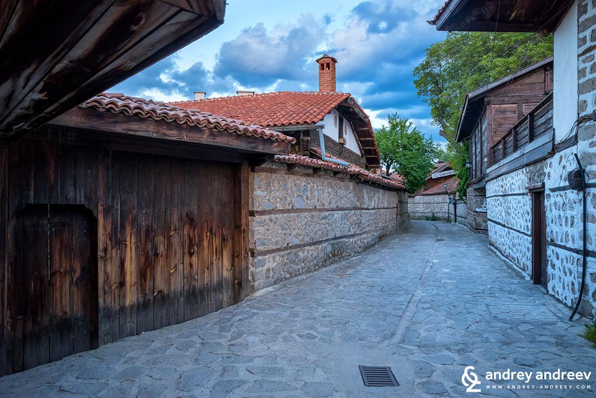 Old town of Bansko, BUlgaria