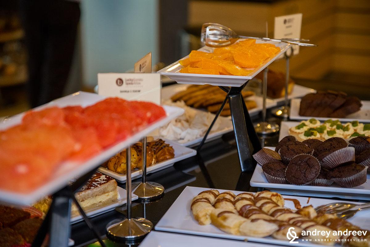 Delicious breakfast in hotel Lucky Bansko
