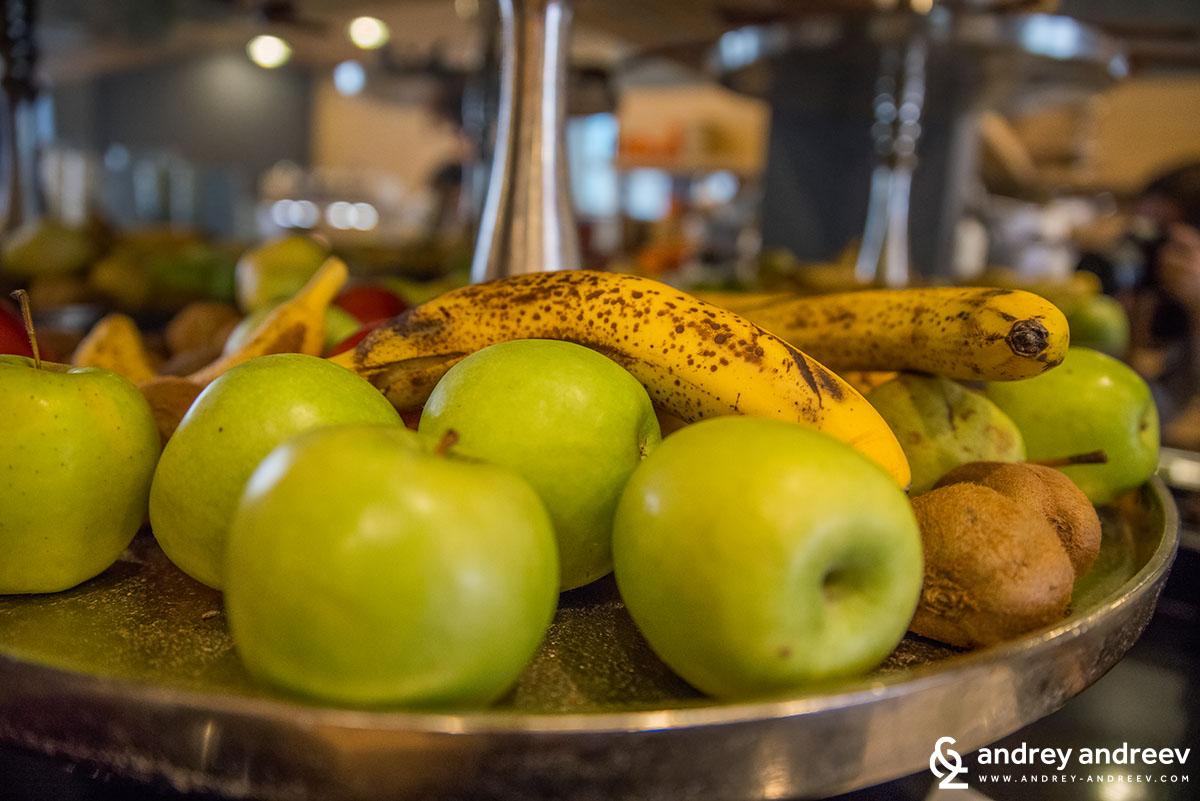 Fruits for breakfast