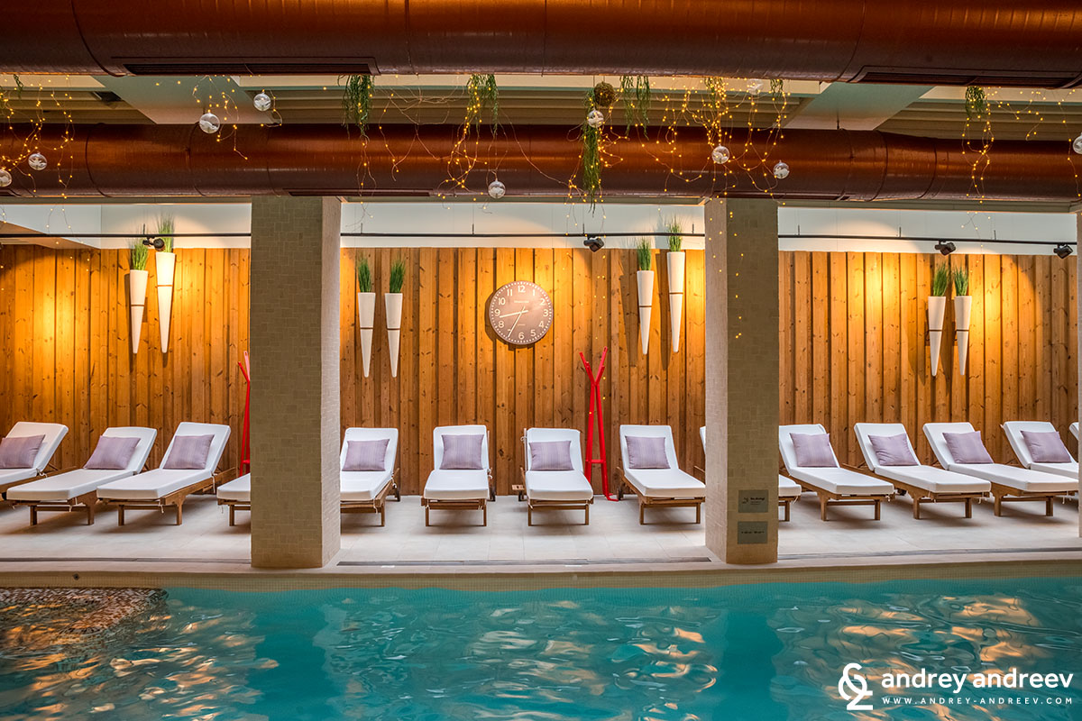 During busy weekends I prefer to use the SPA centre early in the morning or later in the evening. The SPA zone in Aparthotel Lucky Bansko is luckily open from 8 to 22h