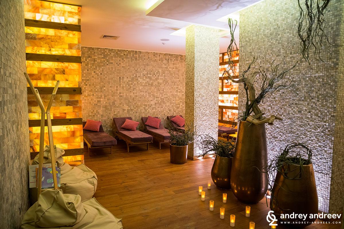 Relax room at Lucky Bansko spa hotel in Bansko Bulgaria