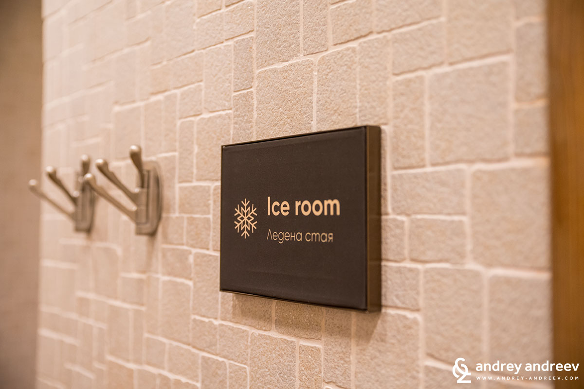 Ice room with temperature -18 degrees, Lucky Bansko, Bulgaria