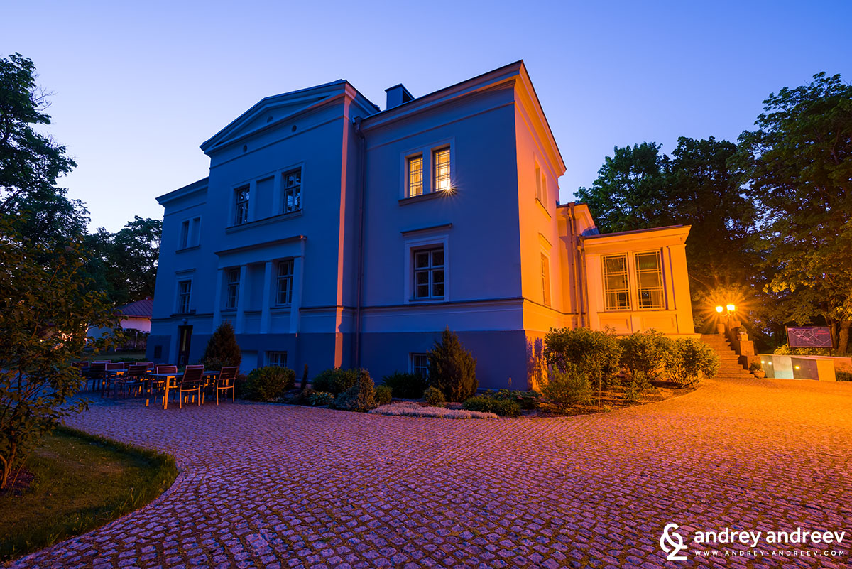 Saka manor in Estonia, Saka cliffs hotel