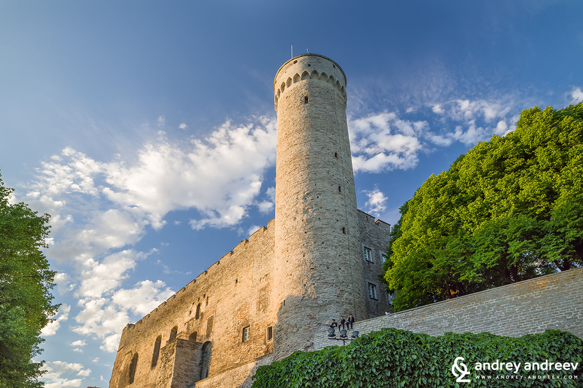 The Toompea tower, Estonia