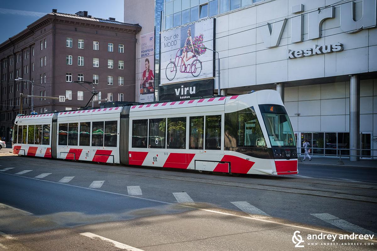 Tram number 4