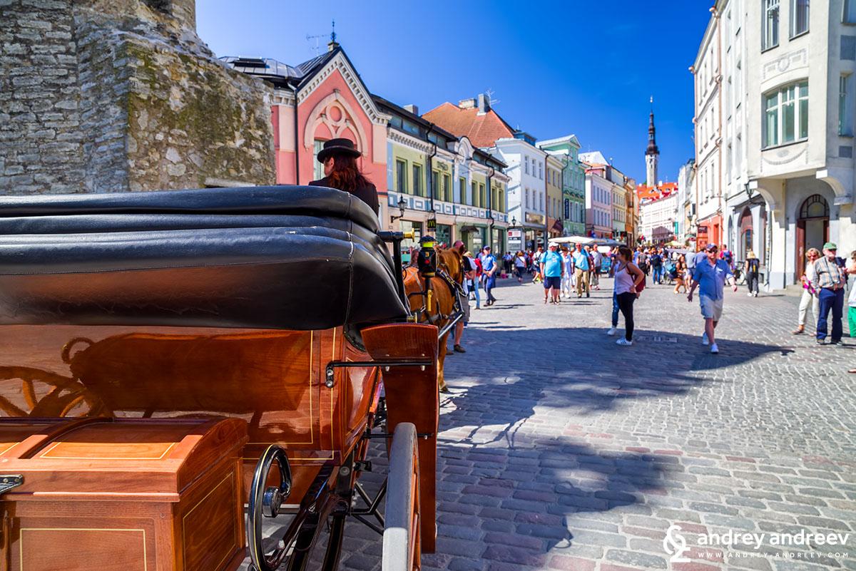 Viru street in Tallinn