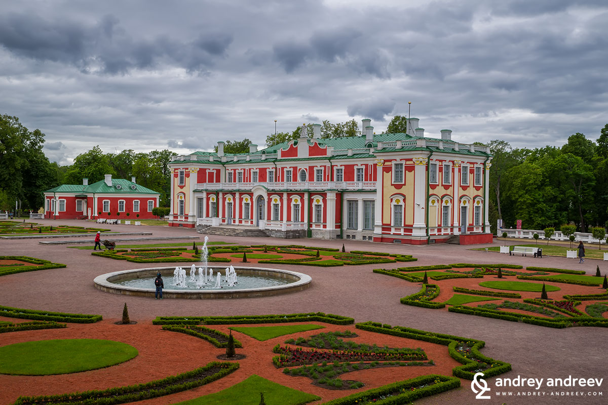 Kadriorg palace in Tallinn