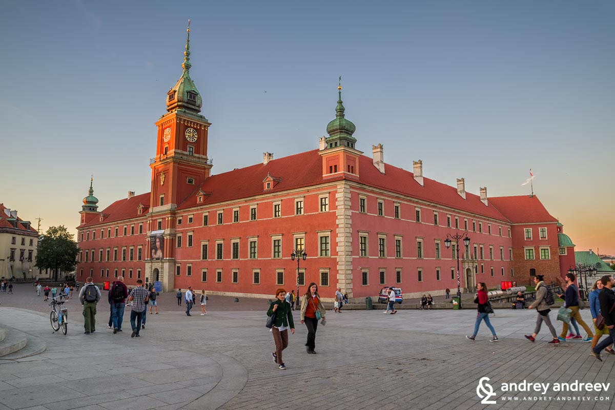 Royal Castle in Warsaw - what to see in one day in Warsaw