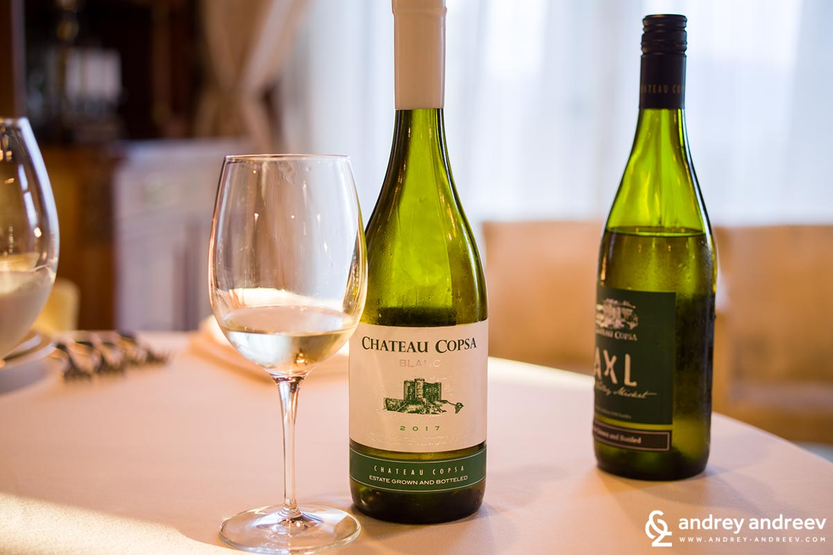 Chateau Copsa Blanc - Chardonnay, Muscat and Misket