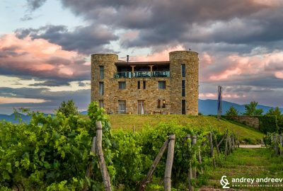 Chateau Copsa hotel and wine cellar in Bulgaria